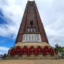 Bespoke Memorial Wreath Holders for Coalville town centre